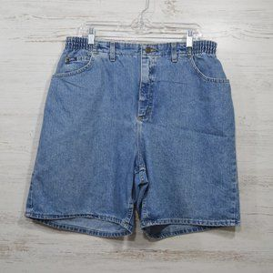 Vintage Lee  Denim Jean Shorts  Women's Size 18